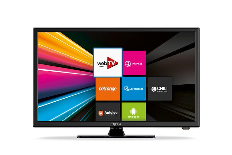 """24"""" SMART FHD <br/> DVB-T2 HEVC main 10"""