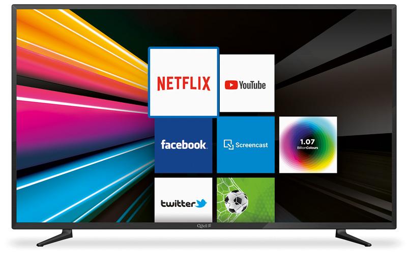 """50"""" UHD Netflix 5.0 <br/> DVB-T2/S2 HEVC main 10"""