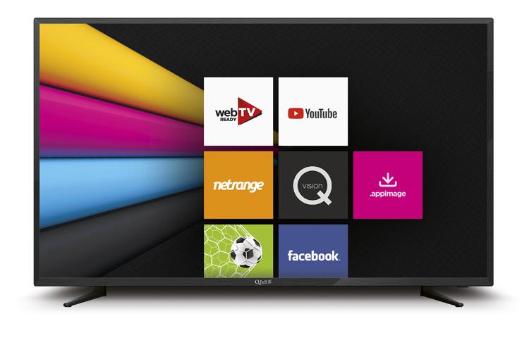 """40"""" SMART FHD Netflix 5.0 <br/> DVB-T2/S2 HEVC main 10"""