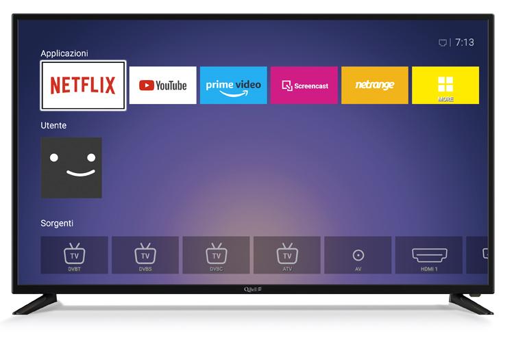 """50"""" UHD Netflix 5.1 <br/> DVB-T2/S2 HEVC main 10"""