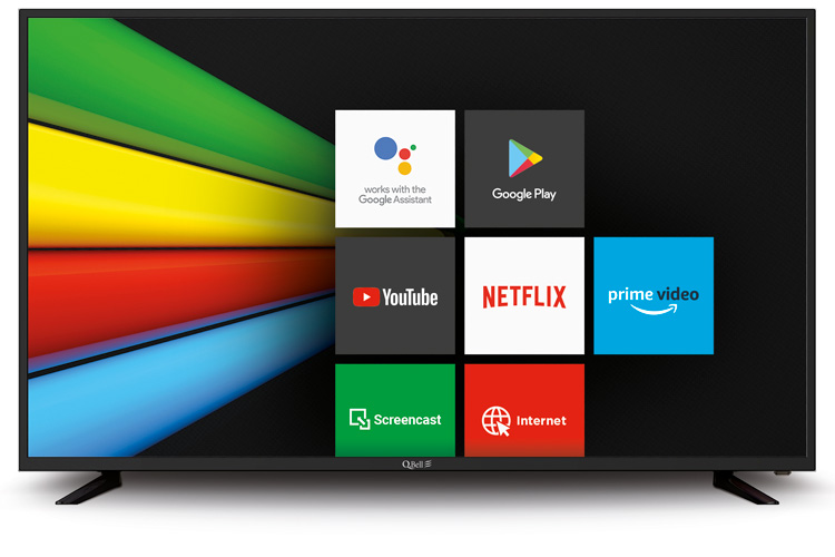 "55"" SMART UHD Google Android 9.0 <br/>Bluetooth – DVB-T2/S2 HEVC main 10"