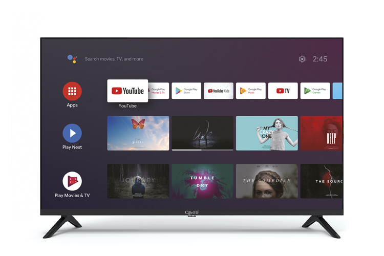 "32"" HD Google Android 9.0 <br/> DVB-T2/S2 HEVC main 10"
