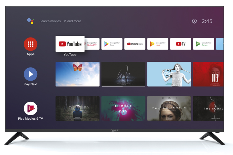 "50"" UHD Android Tv <br/>Bluetooth – DVB-T2/S2 HEVC main 10"