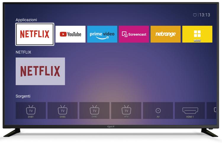 """55"""" UHD Netflix 5.1 <br/> DVB-T2/S2 HEVC main 10"""