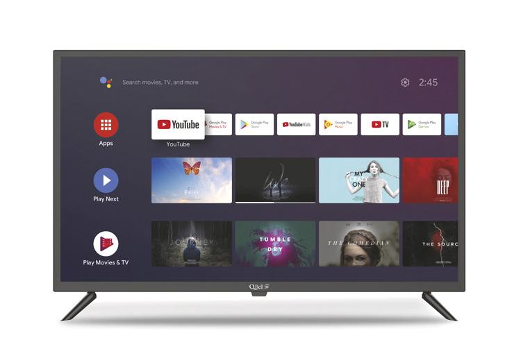 "32"" HD Google Android 9.0 <br/> DVB-T2 HEVC main 10"